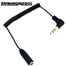 DANSPEED 3.5mm Male to Female Jack Audio Stereo Car stereo Aux Spring Extension Cable For Headphones Speaker Stereos