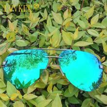 LVVKEE 2018 classic hot sunglasses men Polarized Men sunglasses women Rimless sunglasses Brand Sunglasses Night vision uv400