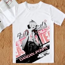 Danganronpa V3 T-shirt Dangan Ronpa Kirigiri Kyouko Naegi Makoto Monokuma Cosplay T-shirt Anime Tees