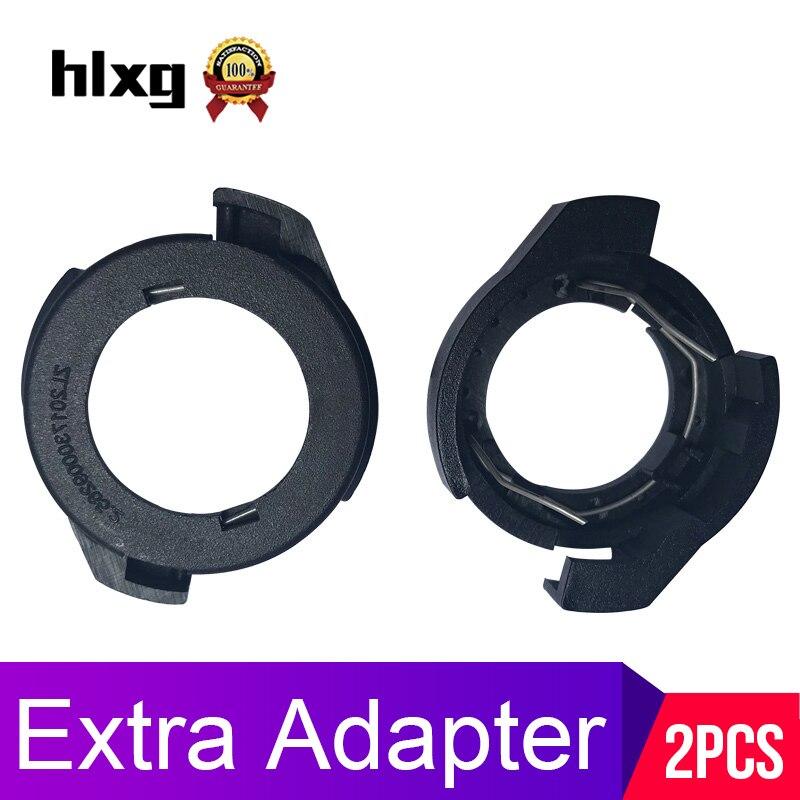 Car LED H7 Headlight Adapter Bulb Holders Clip Base for Ford KUGA V Passat B6