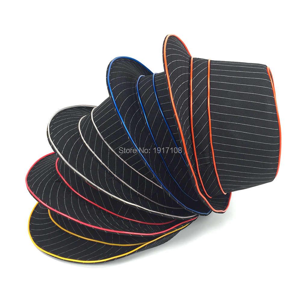 2020 Flashion 파티 모자 할로윈 용품 10 색 사용할 수 빛나는 led 마스크 카니발 웨딩 장식에 대 한 el 모자 모자