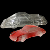 New 3D Car Shape Plastic Chocolate Mold Hard Plastic Making Candy Jelly Polycarbonate Chocolate Mould Pastry