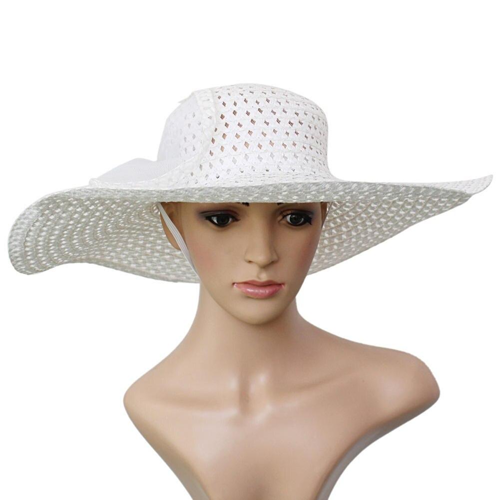 Bohemian Fashion Summer Sun Chapeau de Paille Plage Large Large Brim Cap Special
