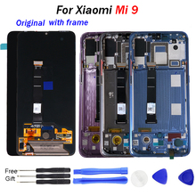 Amoled Original For Xiaomi Mi9 LCD Tested Touch Screen Digitizer Assembly SE Display with tools frame