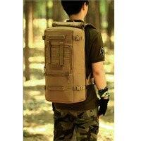 60L Men Women Military Backpacks Waterproof Nylon Fashion Male Laptop Backpack Casual Female Travel Rucksack Camouflage