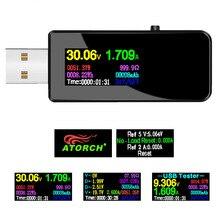 USB tester DC Digital voltmeter amperimetro current voltage meter amp volt ammeter detector power bank charger indicator