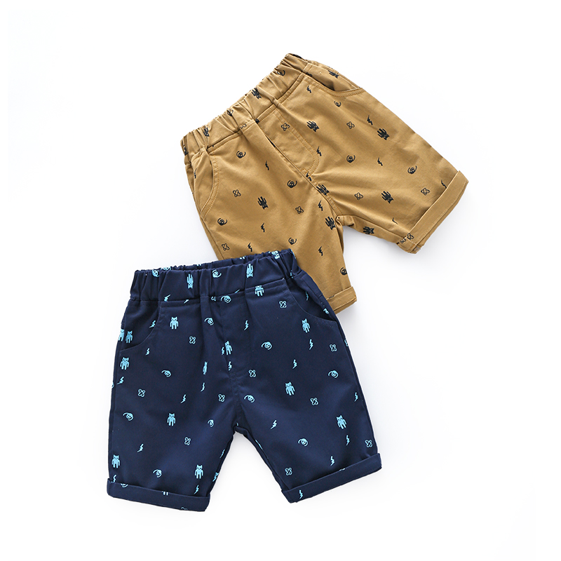 2019 Boy Clothing Boys Short Pant Harem Summer Pants Cartoon Trousers Boys Children Summer Beach Short Pant for Boys 100 140 in Pants from Mother Kids