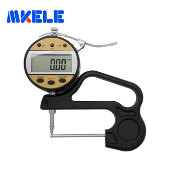 0-10*60 0.01mm Digital Tube Thickness Gauge Electronic  Meter  Tester High Quality
