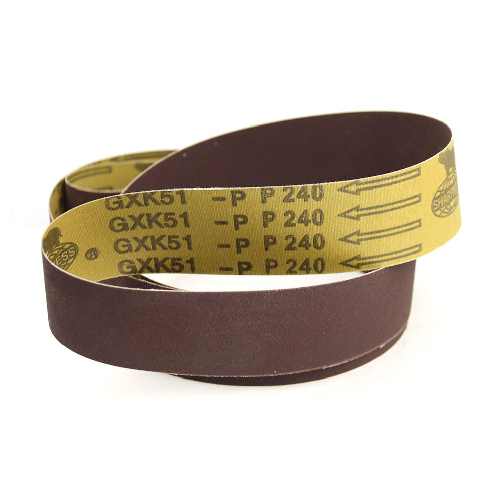 5 Pieces 2000*50mm A/O Abrasive Sanding Belts P60 P80 P120 P180 P240 P320 P400 P600 For Wood Soft Metal Polishing