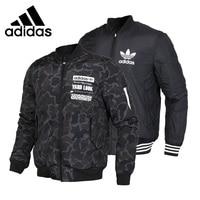 Original New Arrival Adidas Originals GRAPHIC REV BOM Men's Cotton padded Reversible Jacket Sportswear