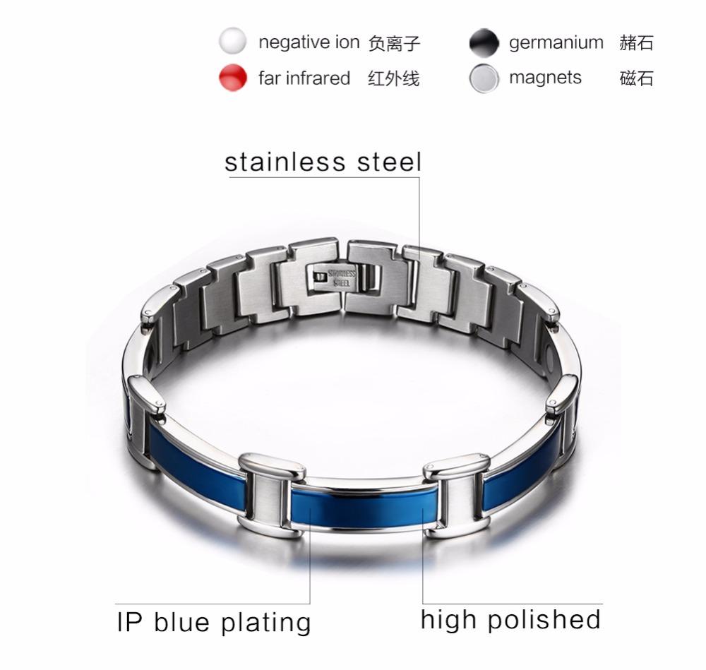 Mens bracelets magnetic Jewelry  16