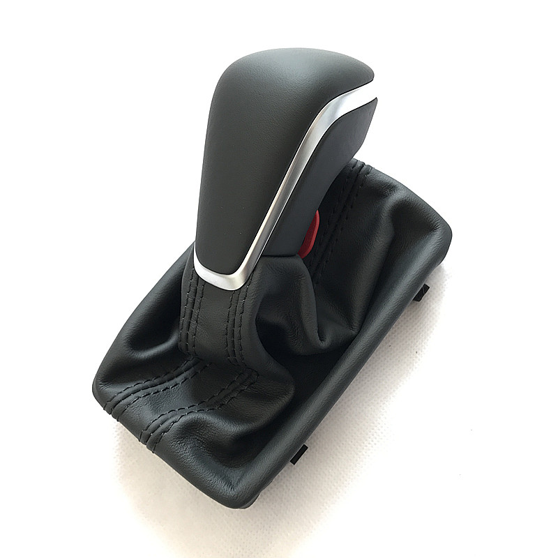 Black Gear Shift Knob with Leather Boot Gaiter LHD AT Auto Trans ONLY For Audi NEW A7 A6 PA STYLE C7 2016 2017 2018 only a promise