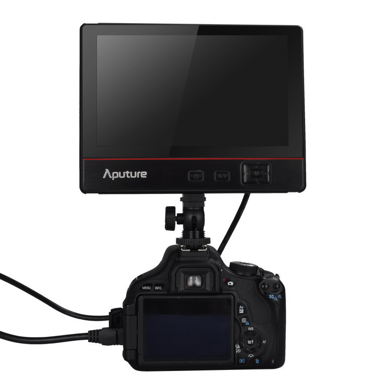 Aputure V-Screen VS-3 7'' inch IPS field Monitor for Canon Nikon Sony DSLR Camera aputure vs 1 7 v screen digital video monitor for dslr cameras eu plug