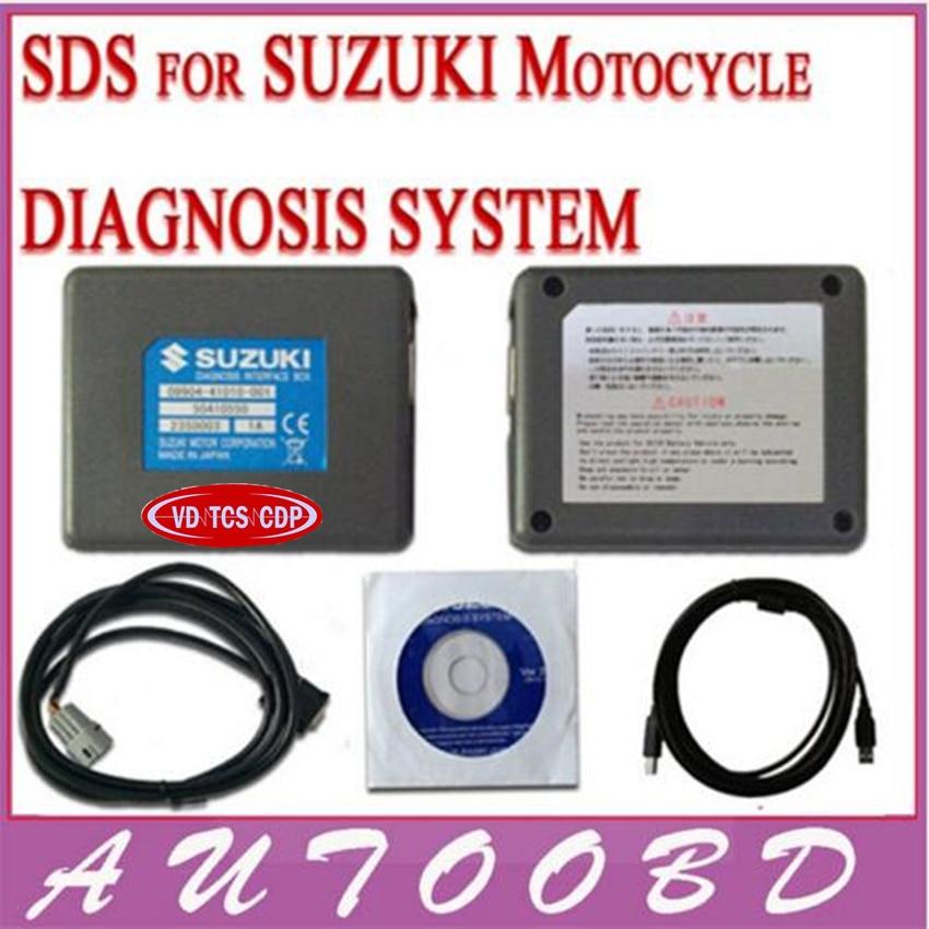 Новый профессиональный многоязыковым SDS для Suzuki Motorcycle Диагностика Системы для Suzuki SDS автоматический диагностический Ремонт Сканер Инструм