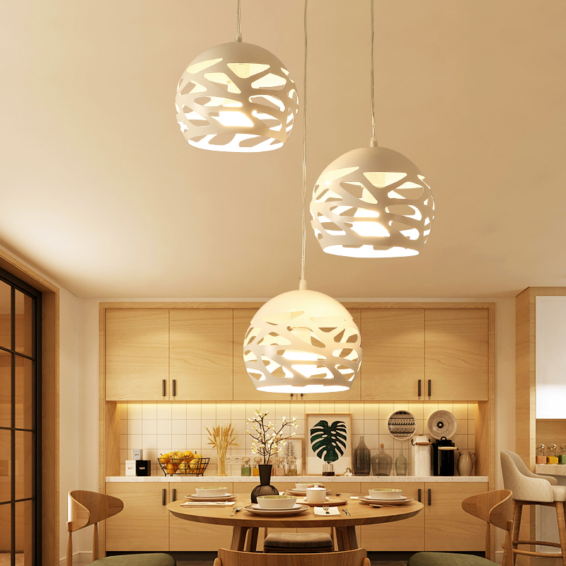 Modern LED pendant chandelier Lamp Restaurant Kitchen Light Suspension Luminaire Home Living Room Bedroom Decoration Lighting modern pendant lights for children kids room bedroom lighting suspension luminaire basketball e27 bulb lamp led pendant light
