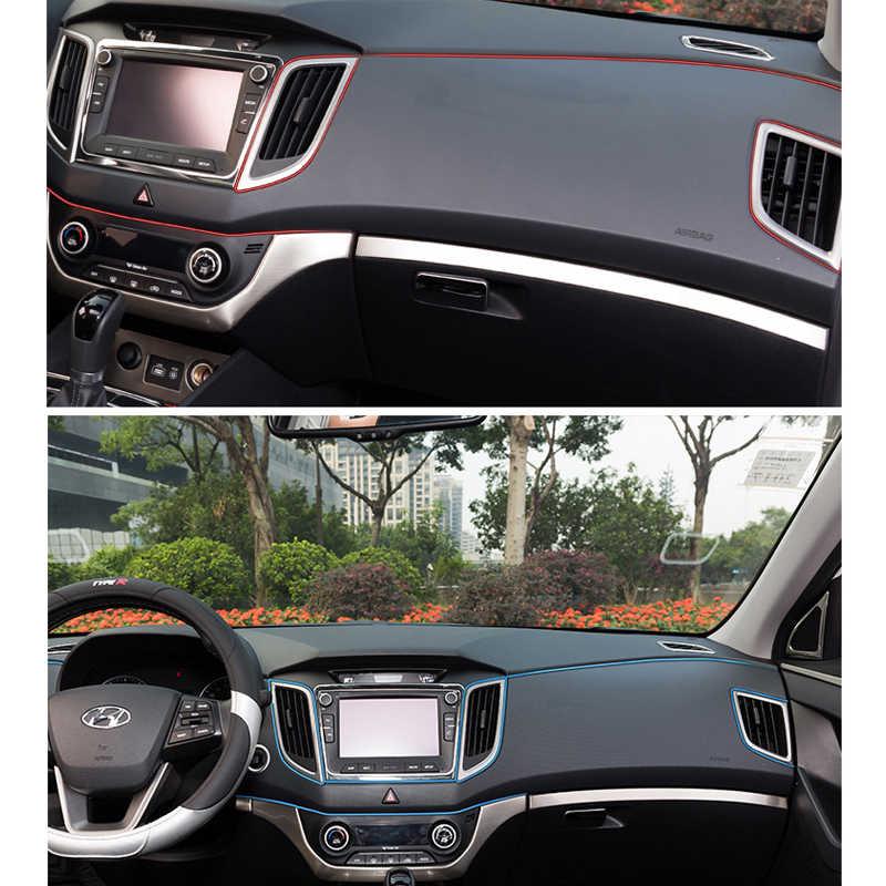 1 ~ 500 м наклейки и наклейки интерьера декоративные 3D нитки наклейки декоративные полосы на автомобиль Стайлинг Аксессуары автомобили