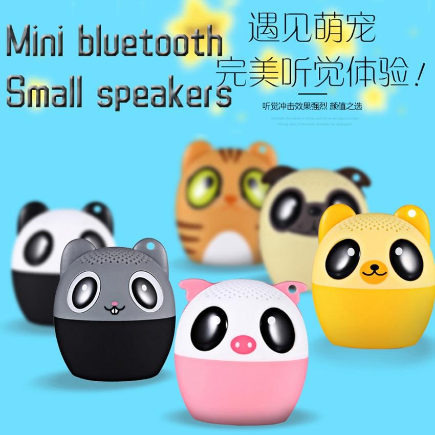 BM6 мини-динамик с животными, Bluetooth, портативный беспроводной динамик, s подарок, уличный звук, стерео сабвуфер, музыкальный плеер для телефона