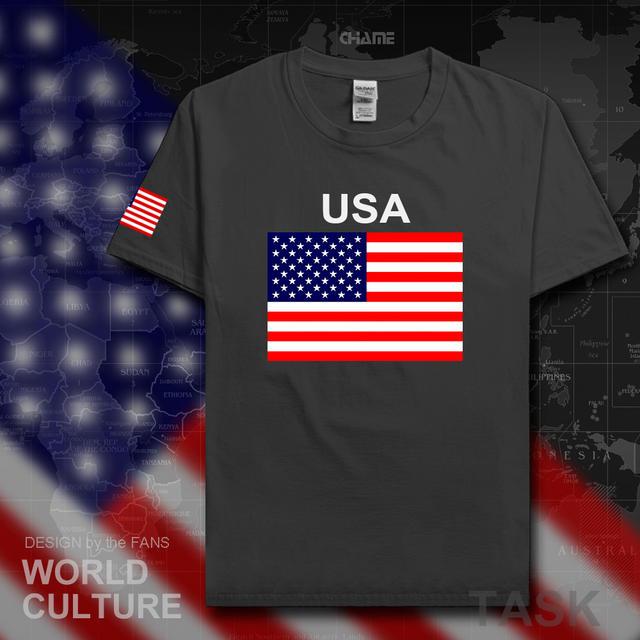 100% cotton men's national team t-shirt