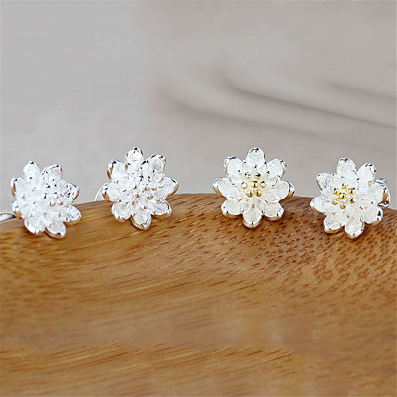 PATICO 2018 Top Selling Fashion One Pair Earring Accessories 925 Sterling Silver Beautiful Luxury Jewelery Gift For Women