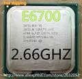 Оригинал E6700 CPU lntel CPU Core2 2.66 ГГц 775pin/4 МБ Кэш Двухъядерный 65 Вт scrattered штук (работает 100% Бесплатная Доставка)