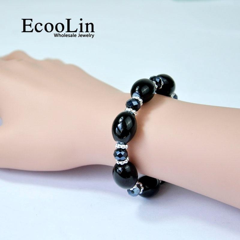 Fashion Women's Crystal Gem Women Rhinestone Boho Charm Bracelets & Bangles famale pulseira Dropping Shipping LR4098
