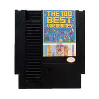 The Best Games For NES game cartridge 100 in 1 with Dust Sleeve