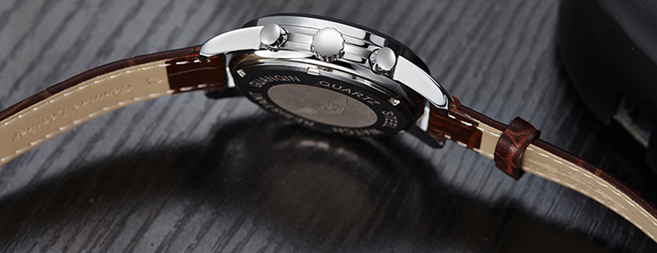água relógio luminoso quartzo relógios de pulso