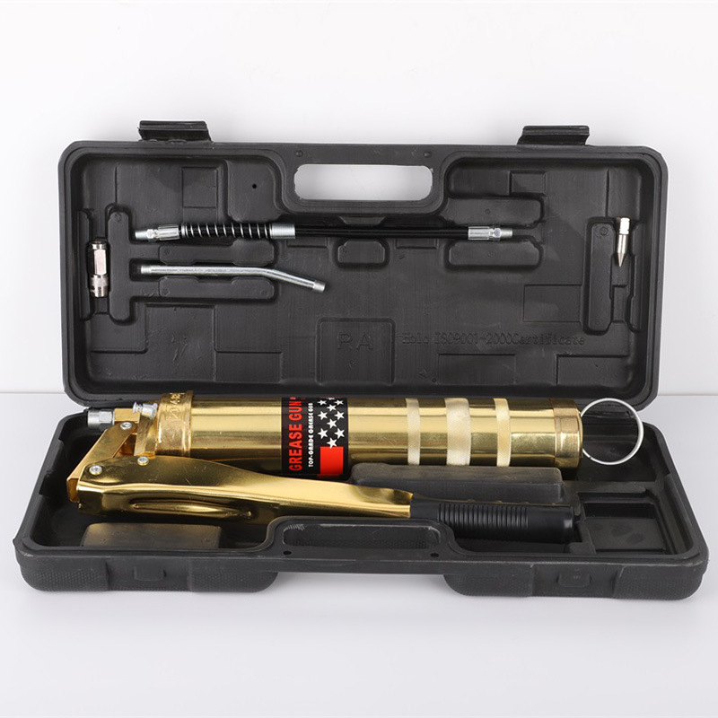 Chaîne pistolet à graisse camion pelle manuelle simple pression Double pression Bar pistolet à beurre lourd haute pression auto-amorçante beurre