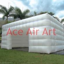 8x5x3 м гигантская белая складная палатка надувной домик шатер с большим входом двери для коммерческих мероприятий США