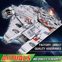 LEPIN 05033 5265Pcs Ultimate Collector S Millennium Falcon Model Building Kit Blocks Bricks DIY Toy Compatible