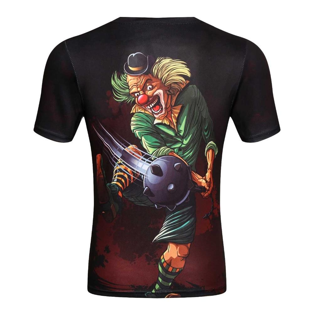 8cd2d34989f7 New Fashion Men 3d T shirt Print Watercolor Skulls And Little ...