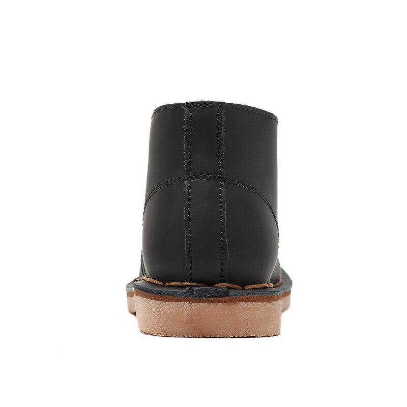 Désert Bottes Populaire Martin Up En Air Haute Chaussures Comforty khaki Lace Taille beeswax Plein 3844 Black Hommes Color Mode Qualité Respirant Cheville Botas Casual 0wOnvmN8