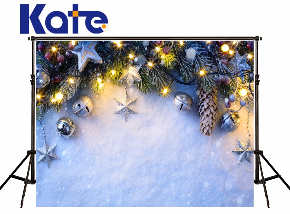 Kate Christmas Backdrops Photography Snow Backgrounds Deca For Photo Studio Children Microfiber Decoration For Home сумка kate spade new york wkru2816 kate spade hanna