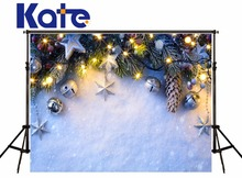 Kate Christmas Backdrops Photography Snow Backgrounds Deca For Photo Studio Children Microfiber Decoration Home