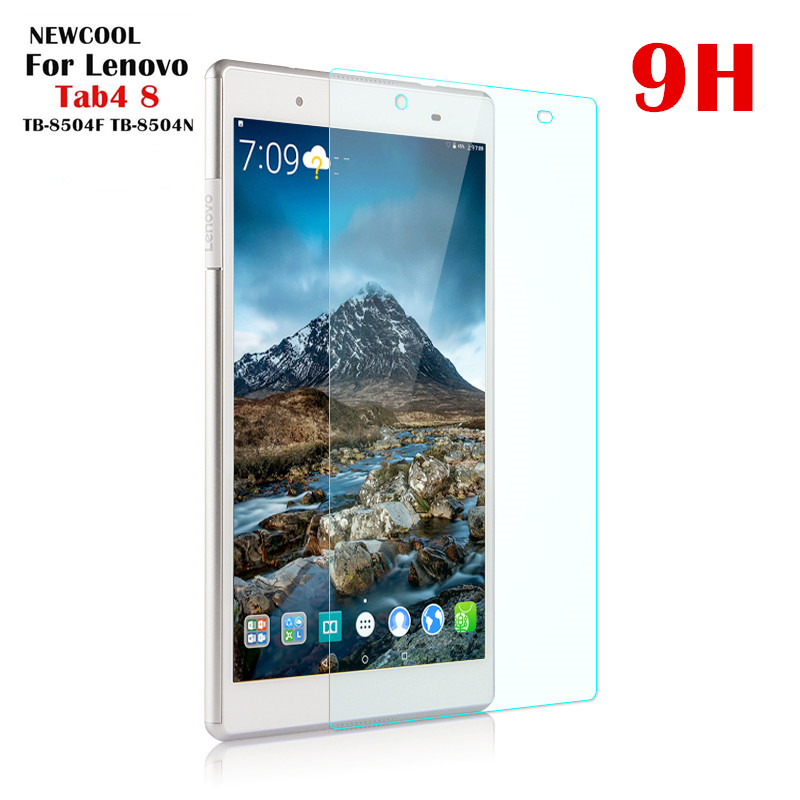 for Lenovo TAB4 8 TB-8504N TB-8504x TB-8504F Tempered Glass Screen Protector Protective Film for Lenovo TAB 4 8 TB-8504 TB-8804F aiyoo 9h tempered glass for lenovo tab 4 10 screen protector film for lenovo tab4 10 tb x304f tb x304n 10 1 tempered glass film