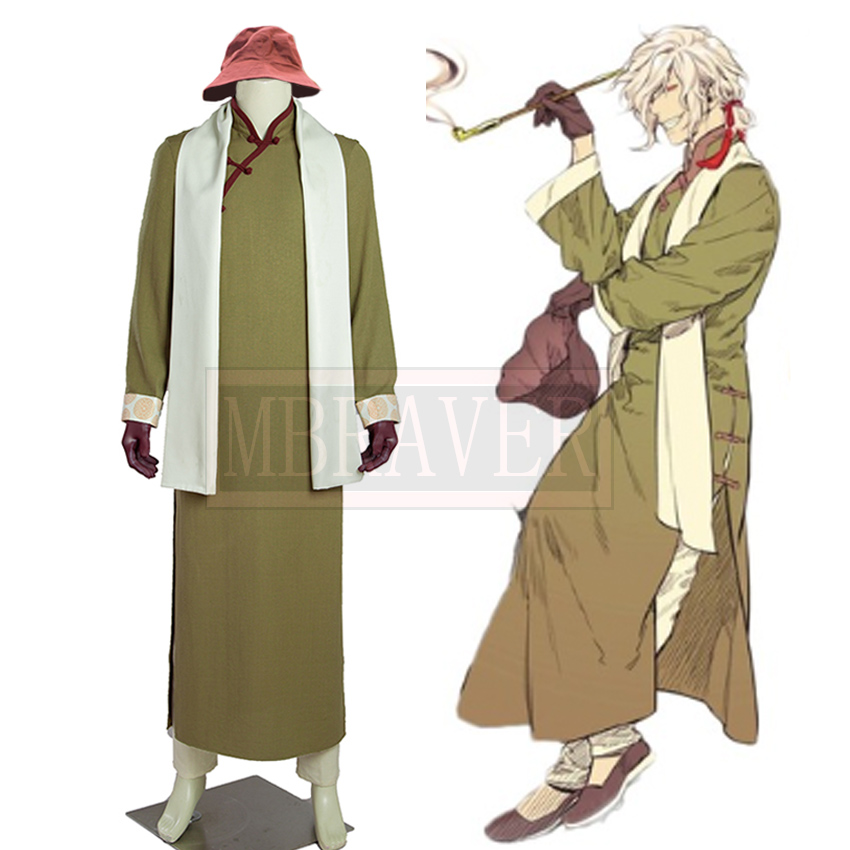 FGO Fate Grand Order Monte Cristo Edmond Dantes Cosplay Costume Custom Made Any Size