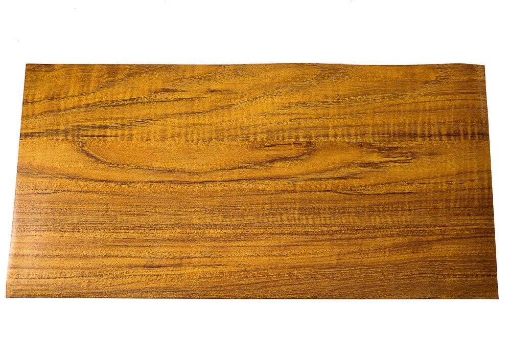 Legno d oro del vinile impermeabile pavimenti in piastrelle muro