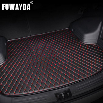 FUWAYDA car ACCESSORIES Custom fit car trunk mat for HOVER Wingle 5 all the years travel non-slip waterproof Good quality trunk tray mat for honda fit 2014 2017 waterproof anti slip car trunk cover for honda fit black