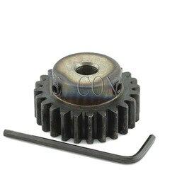1 sztuk 1.5M25T 12mm szerokość 6mm/6.35mm/7mm/8mm/10mm/12mm/15mm z otworami 25 zęby moduł 1.5 silnik metal gear Wheel Top Screw