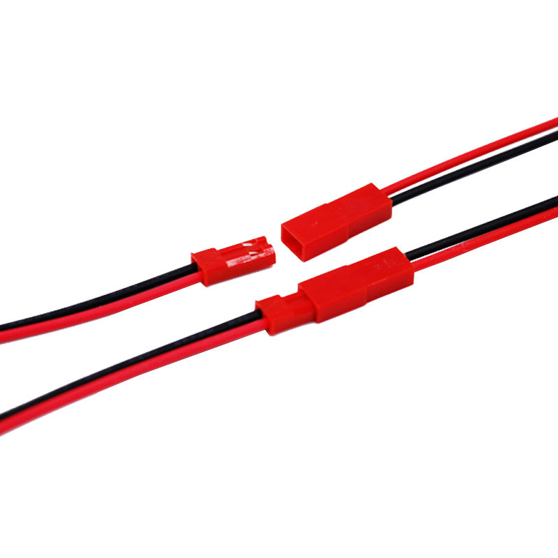 Image 2 - 100 Pairs JST Plug Connector 2 Pin Male Female 150MM Plug Connector Cable Wire for LED Lamp Strip RC Toys Battery 30%offConnectors   -