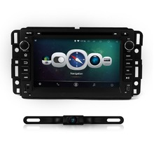 For Yukon/Tahoe 2007–2012 Car DVD Player 1024X600 Android 4.4.4 Quad Core Radio GPS Navigation rear camera  Ipod USB SD SWC