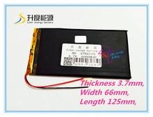 Mejor batería marca 3766125 tablet pc batería 3.7 v 6000 mah v811v801 colorful e708 q1
