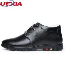 UEXIA Holgazanes de Los Hombres Zapatos de Invierno Diseñador de Los Hombres Cálido Felpa Corta de La Moda Masculina Zapatos Casuales Hombres Zapatillas Deportivas Sapato