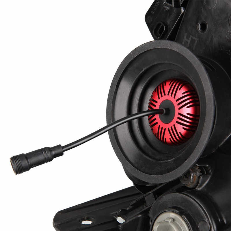 Flintzen 2 шт. Универсальный светодиодный HID комплект ксеноновых передних фар автомобиля пылезащитный Пыльник покрытие для автомобильных голени свет лампы H1 H3 H4 H7 H11