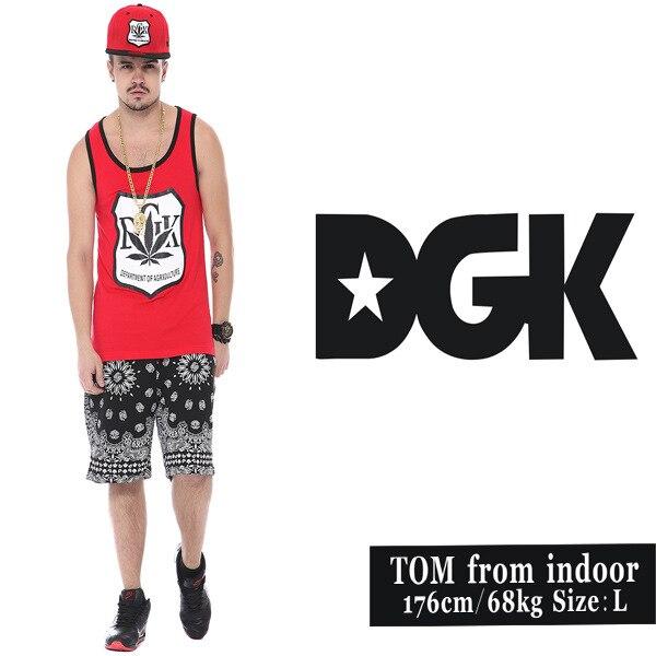Dgk 2015 Brand Skate Hip Hop Clothing Street Fashion Brand Cottongym Shark Men Tank Tops Gym