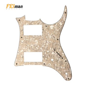 Pleroo Guitar parts pickguards suit for Ibanez GRX20 Japan MIJ Guitar best quality HH Pick guard Music Replacement Accessory ibanez os rd offspring model pick