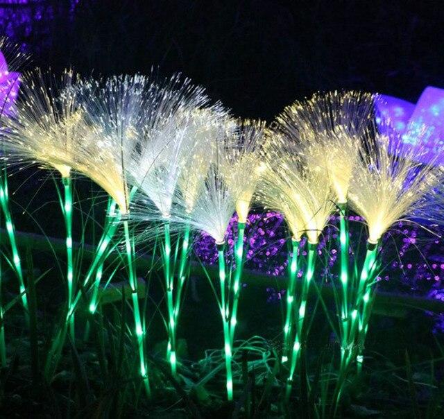 Waterproof Led Fiber Reed Lights Outdoor Decorative Lighting For Shallow Water Decoration Fome Floor Lamp Garden
