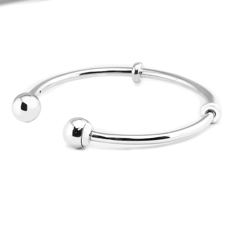 Open Bangle Bangles 100% 925 Sterling Silver Fine Jewelry For Women Wholesales Free ShippingOpen Bangle Bangles 100% 925 Sterling Silver Fine Jewelry For Women Wholesales Free Shipping