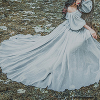 Fashion Womens Vintage Mori Fairy Princess Japan Lolita Girls Long Gown Dress