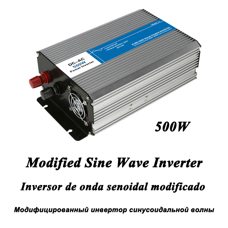 DC-AC 500W Modified Sine Wave Inverter LED Digital Display with USB DC to AC Frequency Converter Voltage Electric Power Supply мультиметр uyigao ac dc ua18